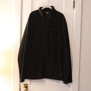 Black Eddie Bauer full zip Fleece - Men's XXL